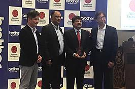 ADS wins awards at Brother Annual Distributor Event 2017