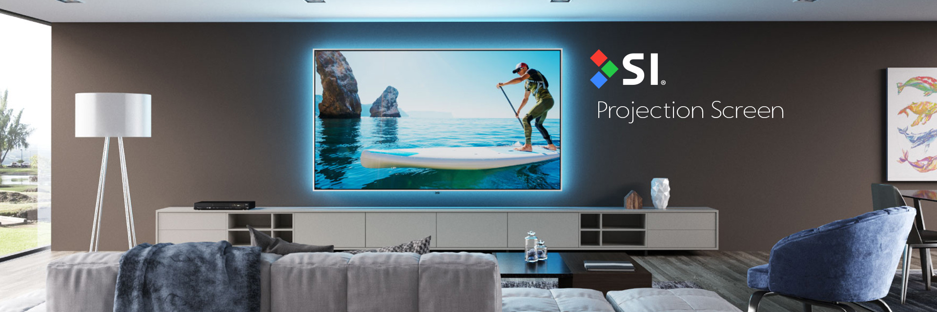 SI Projection Screen