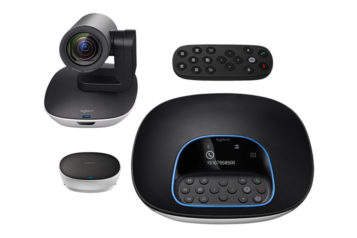 Logitech ConferenceCam GROUP video conferencing